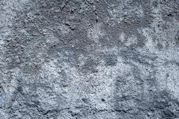 Fragment muru z odłupanego kamienia