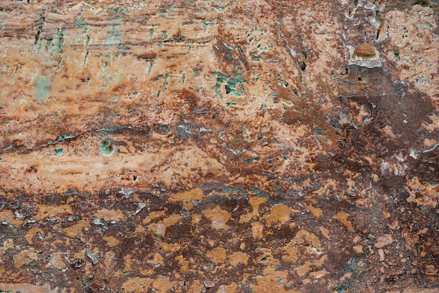 Fragment tekstury marmuru z czerwonego trawertynu
