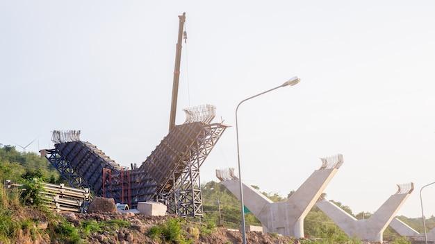 Fragment widok drogi w ramach odbudowy.