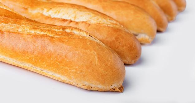 Francuska bagietka, chleb. odosobniony