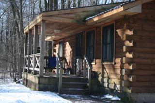 Francuski kabiny stan creek park, natura