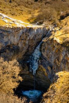 Frozen gollorio waterfall 3