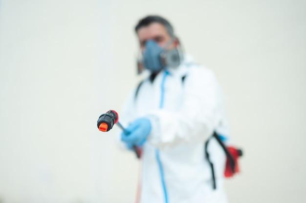 Fumigator odkażające czyszczenie i dezynfekcja profesjonalna kontrola pandemii koronawirusa