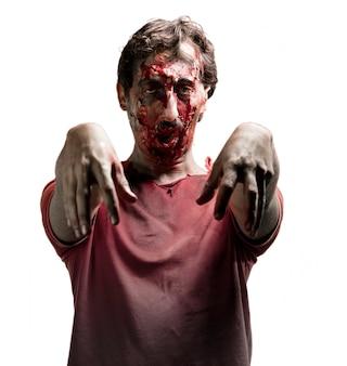 Furious zombie