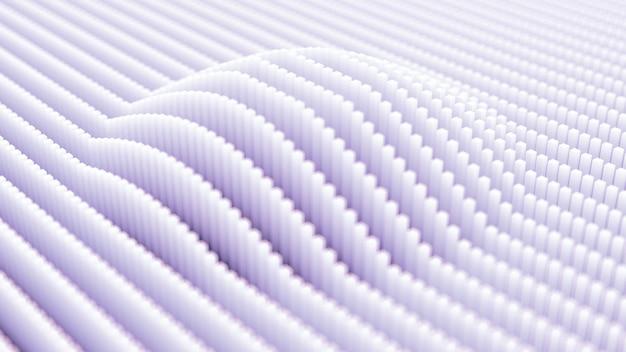 Futurystyczne tło technologii. ilustracja, renderowanie 3d.