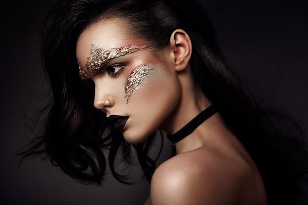 Futurystyczny makijaż
