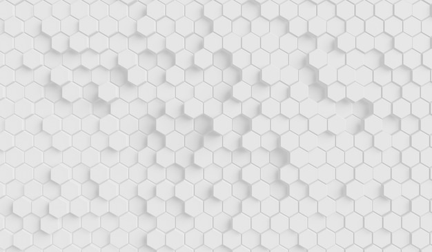 Futurystyczny wzór sześciokąta o strukturze plastra miodu