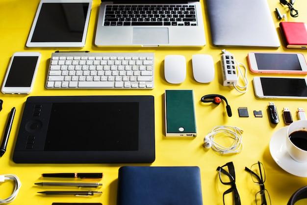 Gadżet sprzętu technologii cyfrowej