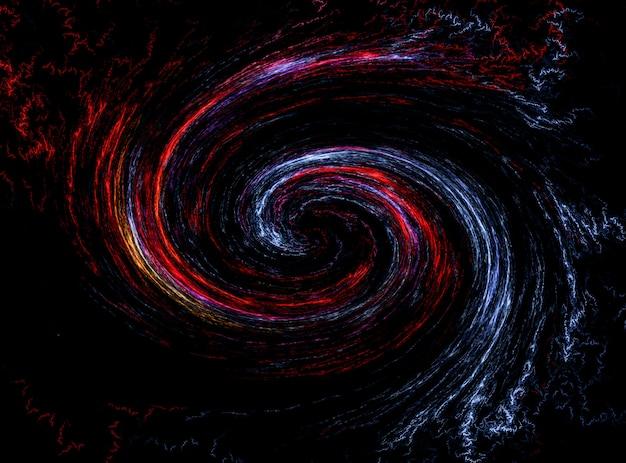 Galaktyka spiralna. tło kosmosu. gwiaździste niebo w tle.