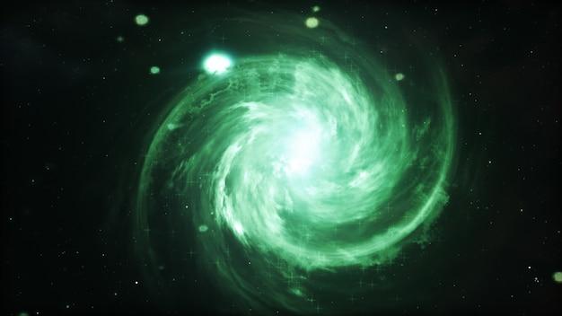 Galaktyka w przestrzeni, piękno wszechświat, chmura gwiazda, plamy tło, 3d ilustracja