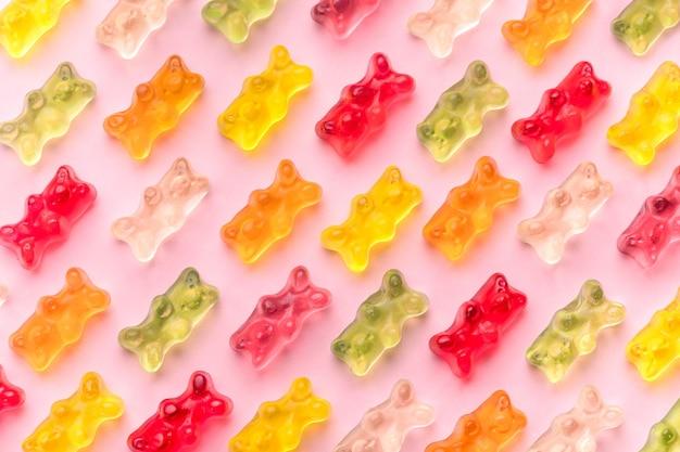 Galaretki niedźwiedzie wzór