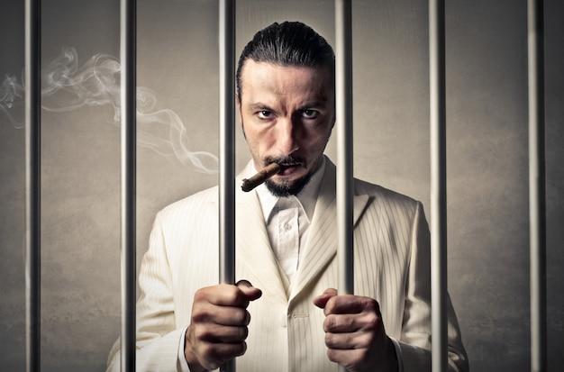 Gangster w więzieniu
