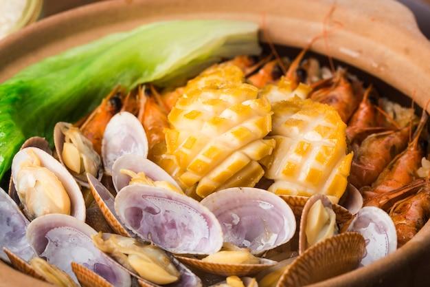 Garnek do ryżu w stylu kantońskim