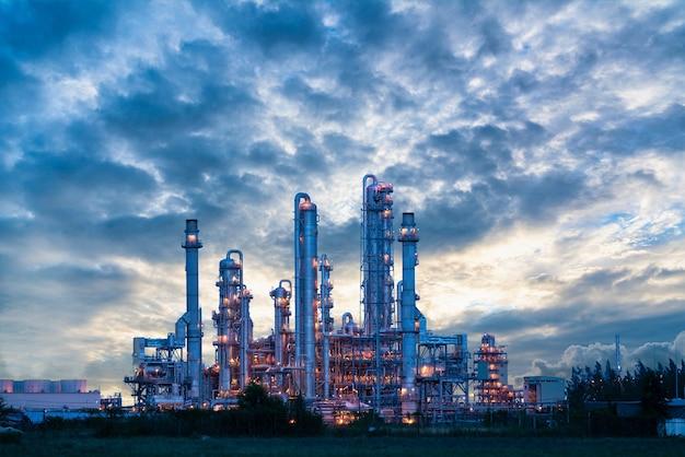 Gaz lub olej z elektrowni dla przemysłu o zmierzchu