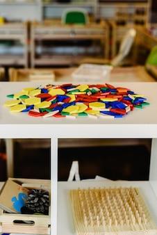 Geometria i materiały matematyczne w klasie montessori