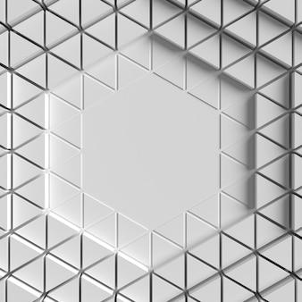 Geometryczna kopia przestrzeń oko abstrakcyjny efekt tła