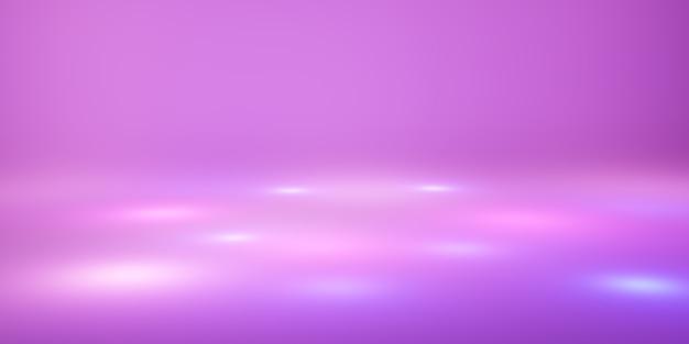Geometryczne tło różowe musujące światło słodki kolor tła 3d ilustracja