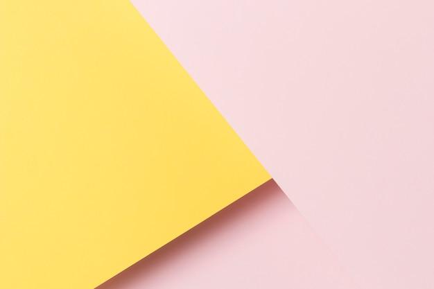 Geometryczny kształt szafki płaskiej