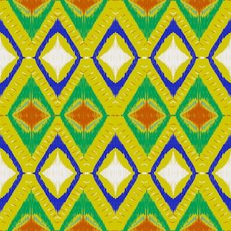 Geometryczny wzór ikat