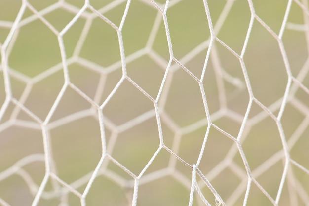 Geometryczny wzór siatki sportowej