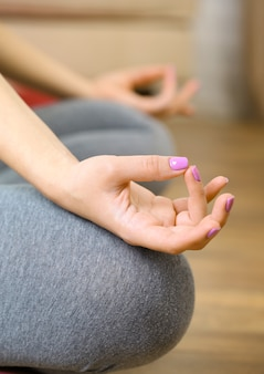 Gest dłoni jogi