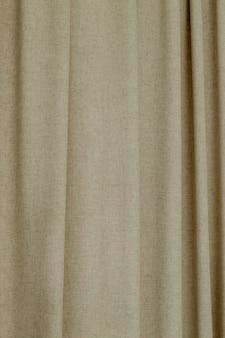 Gęste tło zasłony tekstylnej lub tekstura z fałdami.