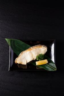 Gindara yakitori, grillowana sobolówka