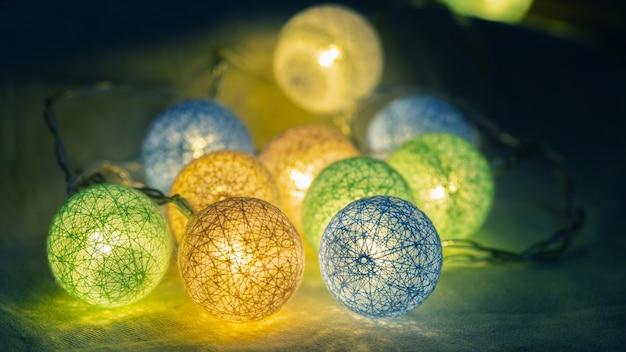 Girlanda dekoracyjnych świateł led