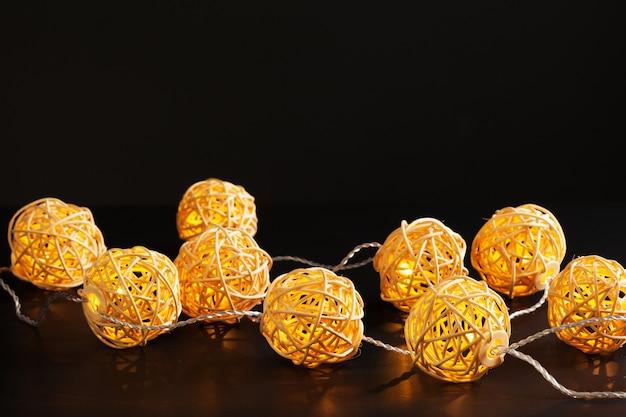 Girlanda lampek świątecznych
