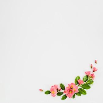 Girlanda z kwiatów