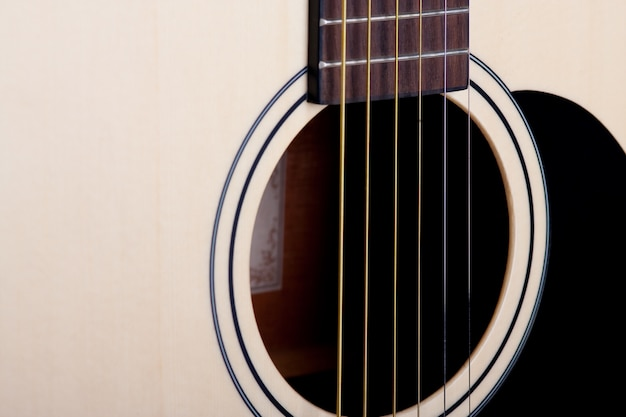 Gitara z bliska