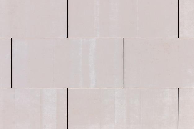 Gładka biała cegła tekstura