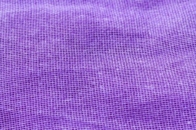 Gładka, elegancka faktura materiału z fioletowej tkaniny