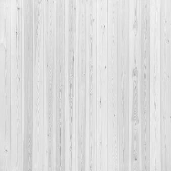 Gładka ogrodzenia ułożone z białych desek