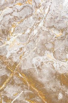 Gładki brązowy marmurowy wzór tekstury