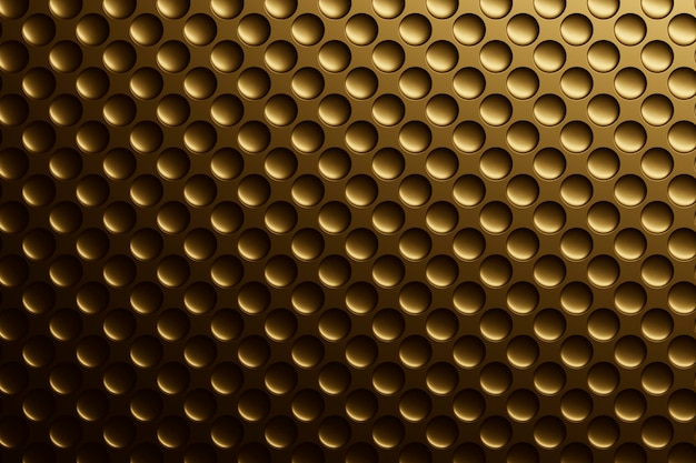 Gładkie złote teksturowane tło materiału