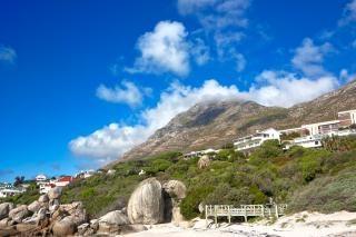 Głazy beach villa fotografia hdr