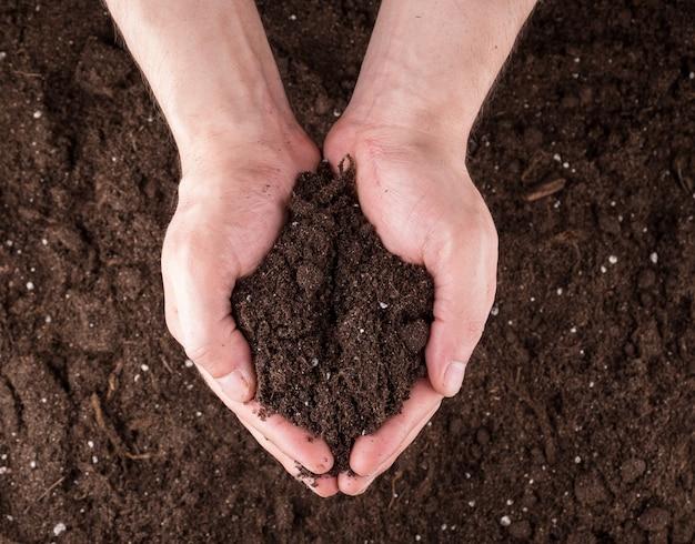 Gleba w rękach