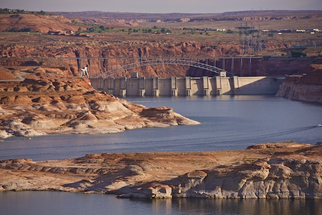 Glen canyon dam w arizonie