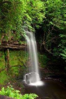 Glencar falls tło