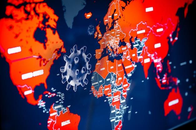 Globalna pandemia wirusa koronawirusa covid-19