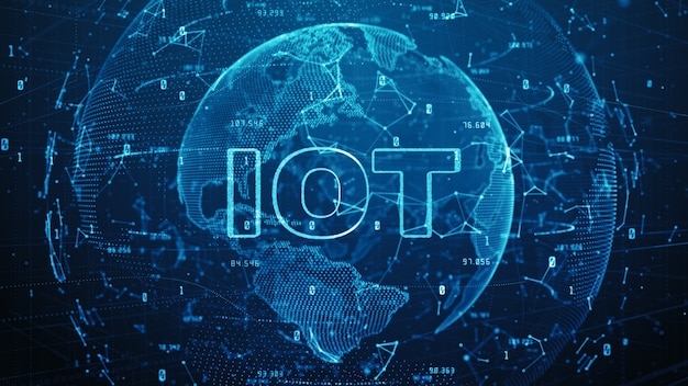 Globalna sieć 5g szybka komunikacja internetowa