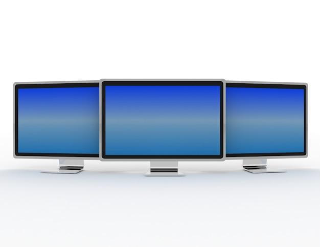 Globalna sieć z monitorem.