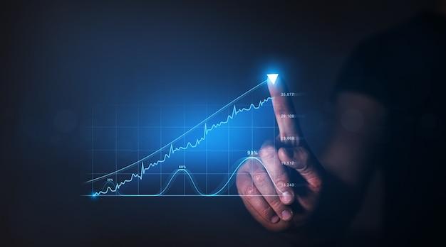Globalne inwestycje biznesowe rozwój strategii biznesowej i rosnący plan wzrostu