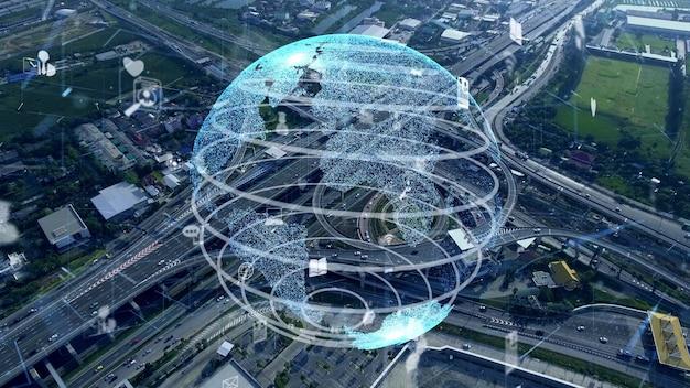 Globalne połączenie i modernizacja sieci internetowej w smart city