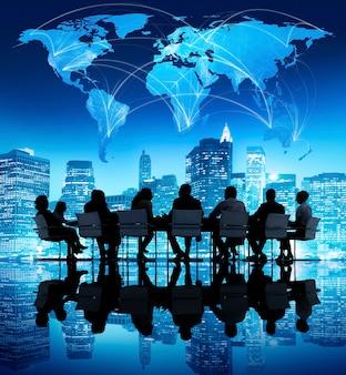 Globalne spotkanie biznesowe