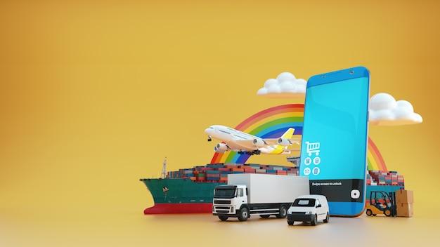Globalny przemysł transportowy.