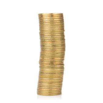 Glod stosu monet.