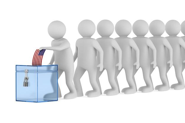 Głosowanie na biały.