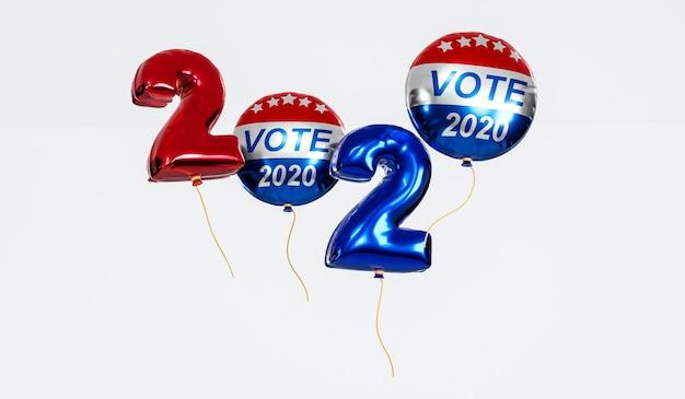 Głosuj na prezydenta stanów zjednoczonych ameryki